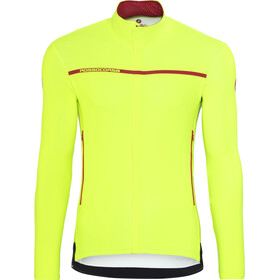 Castelli Perfetto Long Sleeve Jersey Men yellow fluo